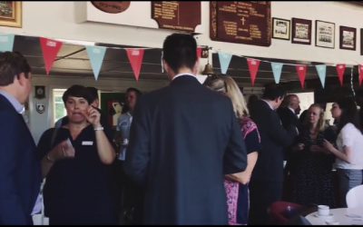 Great Networking At The Vine Cricket Club
