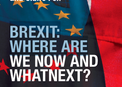 BREXIT: WHERE ARE WE NOW AND WHAT NEXT?