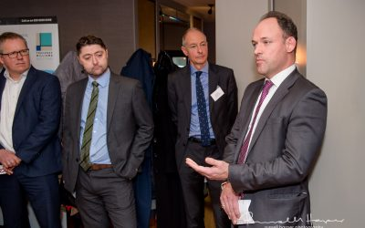 New Year Networking kicked off in great style at Cote Brasserie