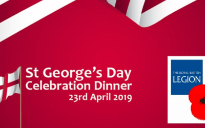 St Georges Day Dinner and Quiz – April 23rd