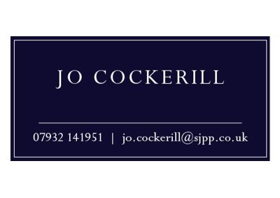 Jo Cockerill – Senior Partner of St. James's Place Wealth Management