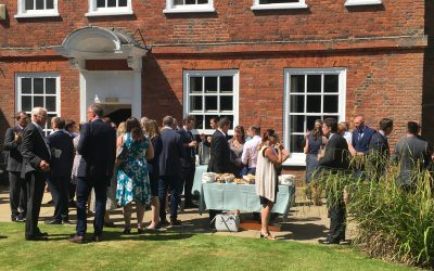 Super Sunny Networking at Knocker & Foskett