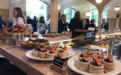 Fabulous September networking at Wildernesse House