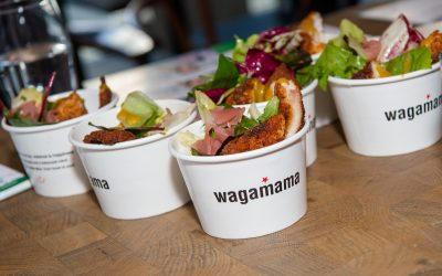 Great turnout at Wagamama for 1st Wednesday networking