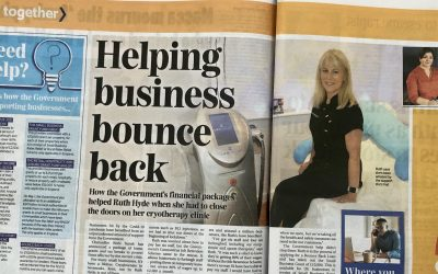 Ruth from Cryojuvenate in the National Press!