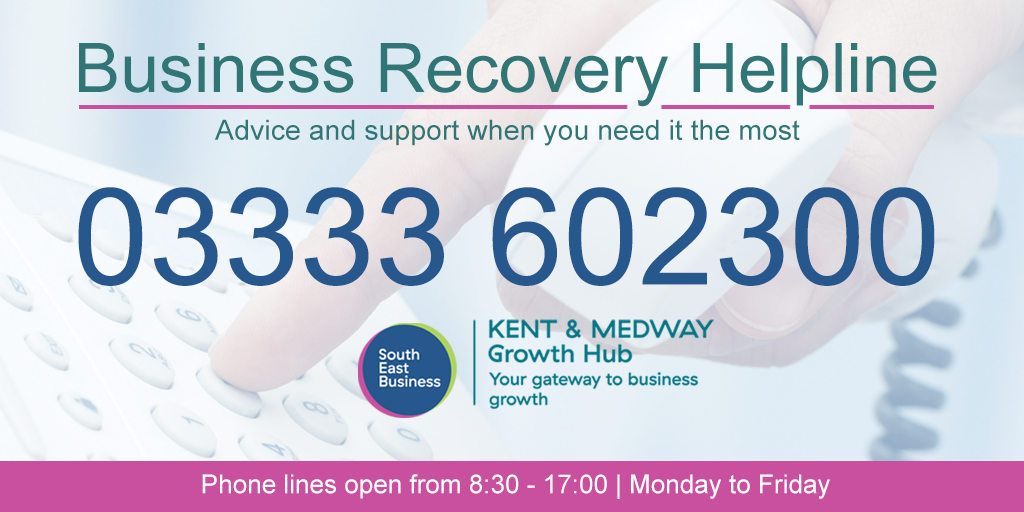 Growth Hub Launches Business Recovery Support Programme Across Kent & Medway