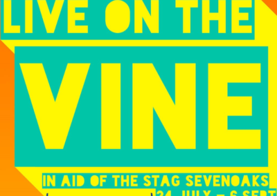 Live on the Vine in support of The STAG Theatre this weekend