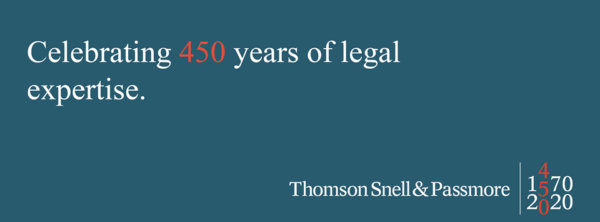 Thomson Snell & Passmore celebrates its 450th Birthday TODAY!