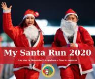 My Santa Run – to raise money for CAB