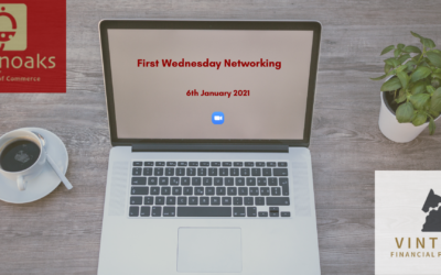 1st Wednesday Networking – 6th January 2021
