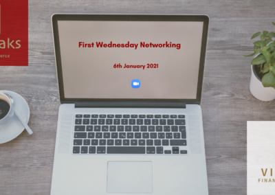 FIRST WEDNESDAY NETWORKING JANUARY 2021