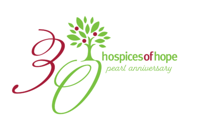 New Virtual Events to celebrate Hospice of Hope's 30th Pearl Anniversary