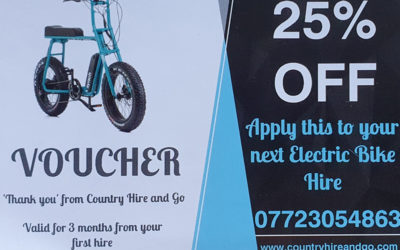 Member offer from Country Hire & Go