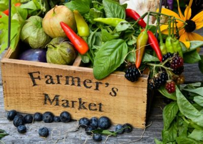 Farmers and Craft Market Tomorrow at Reuthe's Lost Gardens