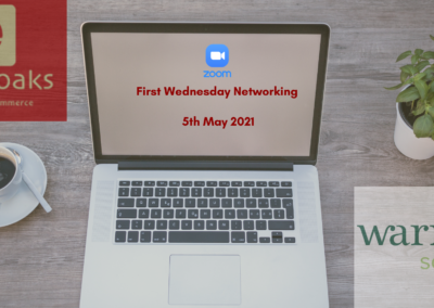 FIRST WEDNESDAY NETWORKING MAY 2021
